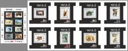 SIERRA LEONE 2019 MNH WWF Stamps On Stamps Briefmarken Auf Marken Timbrex Sur Timbres M/S+8S/S - IMPERFORATED - DH1948 - W.W.F.