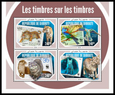 DJIBOUTI 2018 MNH WWF On Stamps WWF Auf Marken WWF Sur Timbres M/S - IMPERFORATED - DH1904 - W.W.F.