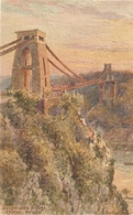 "'""Bristol. Suspension Bridge"" Tuc Oilette Postcard # 4015 - Tuck, Raphael"