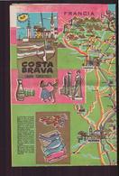"Dépliant Touristique "" Camping Garbet "" Costa Brava 1964 - Reiseprospekte"