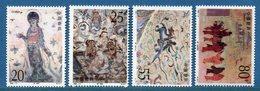 Chine - YT N° 3132 à 3135 - Neuf Sans Charnière - 1992 - Unused Stamps