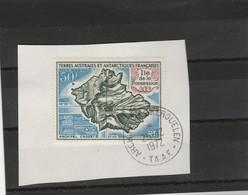TAAF Yvert PA 23 Oblitéré Sur Fragment  Archipel Des Kerguelen 25/12/1972 - Ile De La Possession - Oblitérés