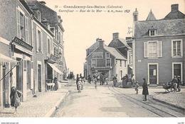 14    .     N° 201894    .    GRANDCAMP LES BAINS    .     CARREFOUR , RUE DE LA MER - Other Municipalities