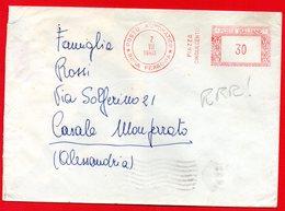 1960 POSTO AUTOMATICO ROMA - RARA METER STAMP EMA FREISTEMPEL AFFRANCATURA MECCANICA - 6. 1946-.. Repubblica