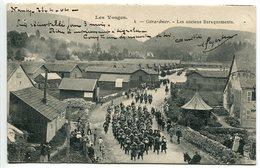 Pionnière * GERARDMER Les Anciens Baraquements ( Colonne Militaire ) Voyagé 1904 - Gerardmer