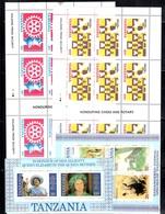 Tanzanie Collection De Feuillets Et Blocs-feuillets Neufs ** MNH Années 80. TB. A Saisir! - Tanzanie (1964-...)