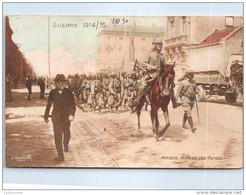 80 AMIENS - Arrivée Des Turcos. - Amiens