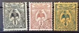 NOUVELLE CALÉDONIE 1905 - Canceled - YT 88, 89, 90 - 1c 2c 4c - Neukaledonien