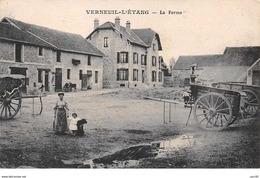 77. N°56439.verneuil L'étang.la Ferme - France