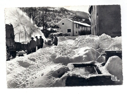 CPSM Prades - Opération Chasse-neige - France