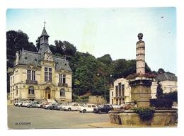 CP Château-Thierry - Place De L'Hôtel De Ville - Citroën 2CV - Chateau Thierry