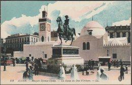 Le Statue De Duc D'Orléans, Mosquée Djemaa-Djedia, Alger, C.1910 - Lévy CPA LL103 - Algiers