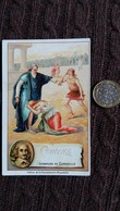 IMAGE CORNEILLE ECRIVAIN TRAGIQUE FRANCAIS SIGNATURE IMPRIMEE CHOCOLAT D AIGUEBELLE FORMAT 7 PAR 11 CM - Vieux Papiers