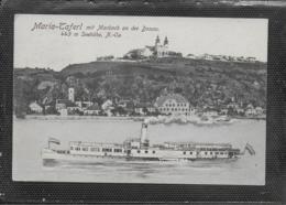 AK 0433  Maria Taferl Mit Marbach Und Donaudampfer - Verlag Ledermann Um 1928 - Maria Taferl