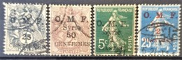 SYRIE 1920 - Canceled - YT 48, 49, 50, 51 - O.M.F. - Syrie (1919-1945)