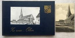 Zo Was... Olen - Lauwerys - 1973 + Kaart 'Oolen Kerk' - Exemplaar Van Auteur + Handtekening - Molens - Tram - Olen