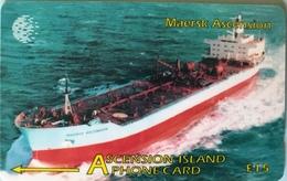 ASCENCION - Phonecard  -  Cable § Wireless  -  Maersk Ascencion  -  £15 - Ascension (Insel)