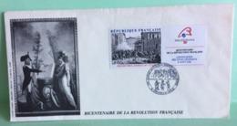 Marcophilie (Lettres) Cachets Commémoratifs 38 Grenoble-Vizille (Révolution Française 1788) - Marcophilie (Lettres)