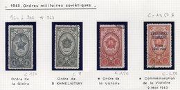 964 à 966 1945 Ordres Militaires Soviétiques - 1923-1991 URSS