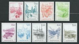MONACO 1986 . Série N°s 1510 à 1518 . Neufs ** (MNH) . - Neufs