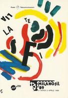 Eventi - Manifestazioni - Milano 1989 - Milanofil '89 - - Manifestazioni