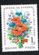 UNGHERIA (HUNGARY)  - SG 3315 -  1980 LIBERATION ANNIVERSARY  -  (MINT)** - Nuovi
