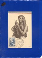 ##(DAN202)- FRANCE 1946- 10F Conference De Paris On Maximum Card, 2nd Liberation De Dijon Special Cancel - 1940-49