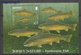 Jersey 2010 Mi Bl 89 MNH ( ZE3 JRSbl89dav37B ) - Peces