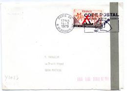 France N° 2023 Y. Et T. Paris 06 Flamme Illustrée Du 14/03/1979 Sur Lettre - 1961-....