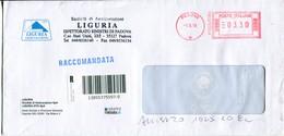 Italia (2010) - Raccomandata Da Padova - Affrancature Meccaniche Rosse (EMA)