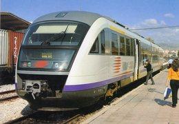 Siemens Desiro Typ 460 Of OSE In Volos (Greece) In 2006 -  CPM - Trains