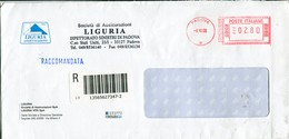 Italia (2008) - Raccomandata Da Padova - Affrancature Meccaniche Rosse (EMA)