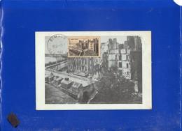 ##(DAN202)- FRANCE 1946- 4F+4F Saint-Malo On Maximum Card, - 1940-49
