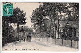 Cpa Moulleau Devant La Foret - Frankrijk