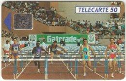 MONACO A-021 Chip Telecom - Sport, Event, Athletics - Used - Monaco