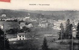 4 CPA De MAICHE (Doubs) - Circulées. Bon état. 4 Scan. - Other Municipalities