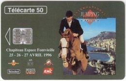 MONACO A-023 Chip Telecom - Animal, Horse - Used - Monaco