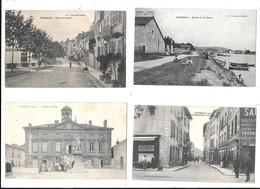 TOURNUS --Lot De 10 Cartes - Toutes Scannées - Orleans