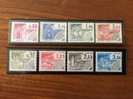 Timbres Préoblitérés Y&T 170 à 177 - 1981 / 1982 - Neuf ** - 1964-1988