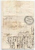 GOVERNO PROVVISORIO DI MURAT - DA ORCIANO A MONTALBODDO - 4 .2.1815. - 1. ...-1850 Prephilately