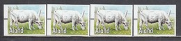 Aland 2001 - ATM - Pets: Cow, Mi-Nr. 12, 4 W., MNH** - Aland