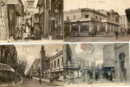 Tunisie - Tunis - Lot De 30 Cartes - Jules Ferry, Avenue France, Souk, Bardo, Kouba, Colisee, Palmarium, Sadikia - Túnez