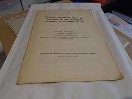 INFORME SOBRE LA ERUPCION DE ISLA DECEPCION OCURRIDA EN DICIEMBRE DE 1967 ILE DECEPTION SHETLAND EDUARDO VALENZUELA - Culture