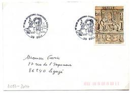 France N° 2053 Y. Et T.Jura DoleCachet Commémoratif Du 01/10/1988 - 1961-....