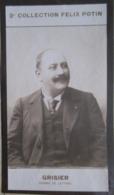 Georges Grisier  -  Journaliste. - Directeur De Théâtre. - Auteur Dramatique - 2ème Collection Photo Felix POTIN 1908 - Félix Potin