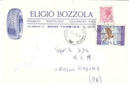 ELIGIO BOZZOLA PNEUMATICI TURBIGO - 6. 1946-.. Repubblica