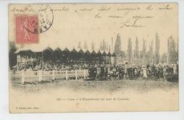 CAEN - HIPPISME - L'Hippodrome Un Jour De Courses - Caen