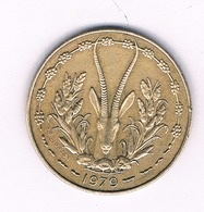 10 FRANCS 1979 CENTRALNE AFRICA /1578/ - Munten