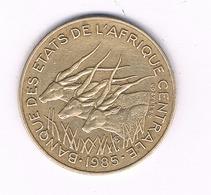10 FRANCS 1985 CENTRALNE AFRICA /1579/ - Munten