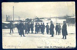 Cpa Photo 1917 Camp Prisonniers Cassel En Allemagne Kriegsgefangenenlager  Photo Strauss  DEC19-44bis - War 1914-18